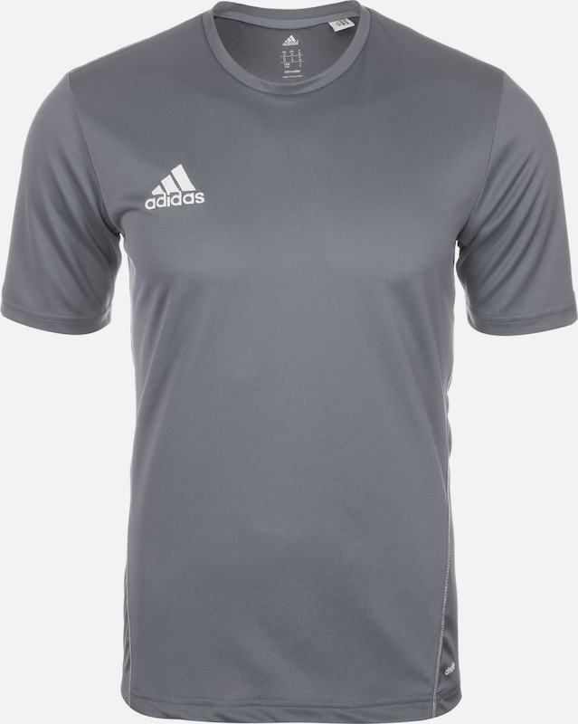 ADIDAS PERFORMANCE Trainingsshirt 'Core 15' in grau: Frontalansicht