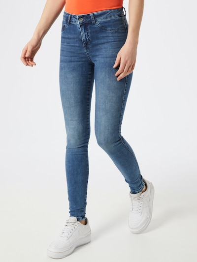 SOAKED IN LUXURY Jeans 'Leia Denim Jeggings Forever Irresistible' in blue denim, Modelansicht