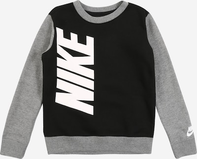 Nike Sportswear Shirt in grau / schwarz, Produktansicht