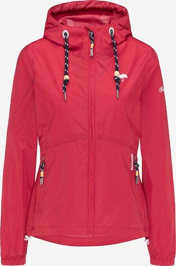 Schmuddelwedda Functionele jas in de kleur Grenadine, Productweergave