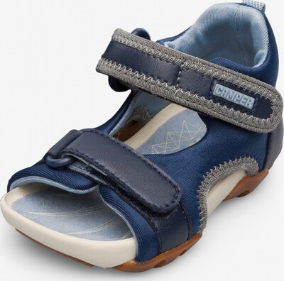 CAMPER Sandale  'Wous' in blau / grau, Produktansicht