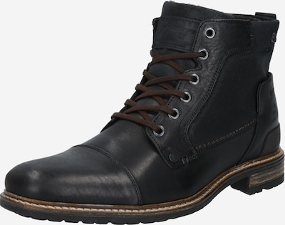 BULLBOXER Lace-up boots in black, Item view