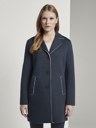 TOM TAILOR Jacken & Jackets Sommerlicher Mantel in nachtblau, Modelansicht