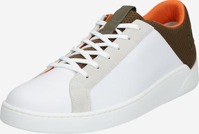 LEVI'S Sneakers laag 'MULLET' in de kleur Kaki / Sinaasappel / Wit, Productweergave