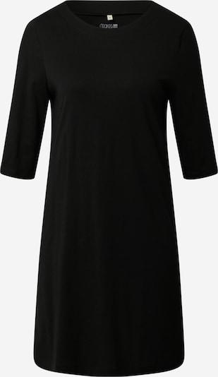 Degree Robe en noir: Vue de face