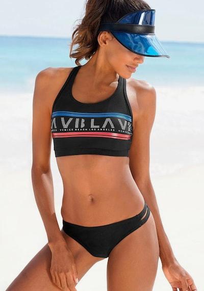VENICE BEACH Bustier-Bikini in schwarz, Modelansicht