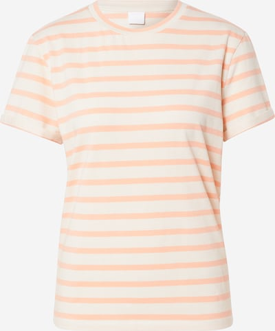 BOSS Shirt 'Tespring' in orange / weiß, Produktansicht