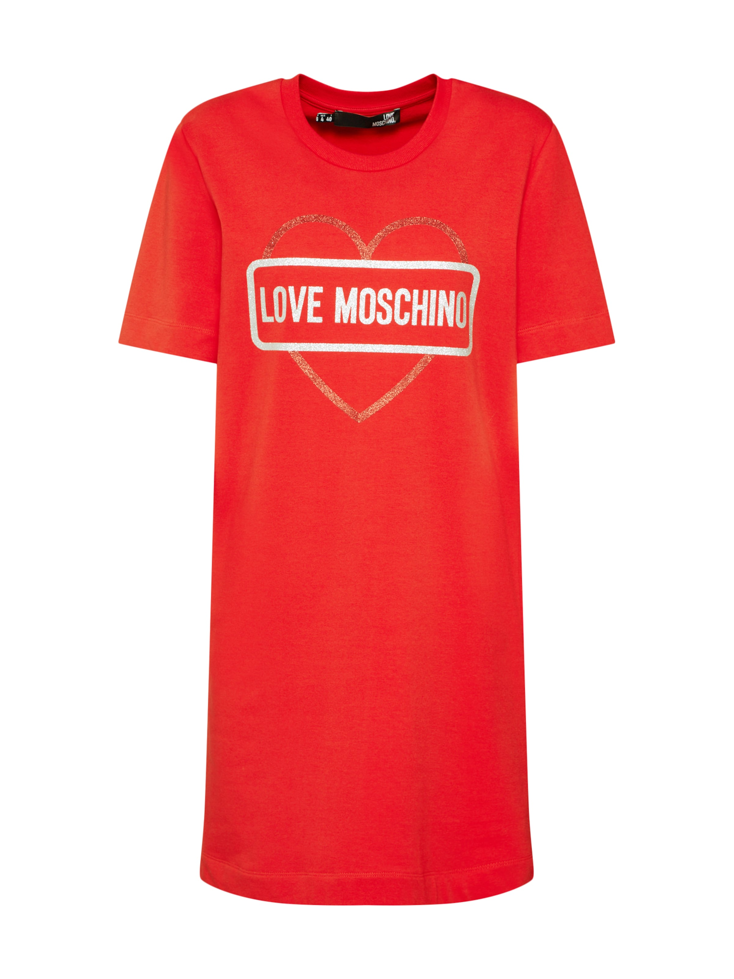 Moschino Kleid In Love 'abito' Rot YE9eWIbDH2
