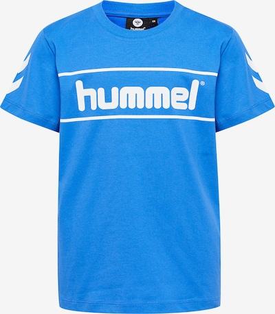 Hummel T-Shirt in blau / weiß, Produktansicht