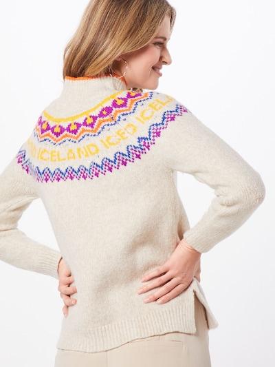 Megztinis iš TOM TAILOR DENIM , spalva - smėlio: Vaizdas iš galinės pusės