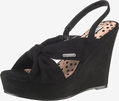 Pepe Jeans Sandaletten in schwarz, Produktansicht
