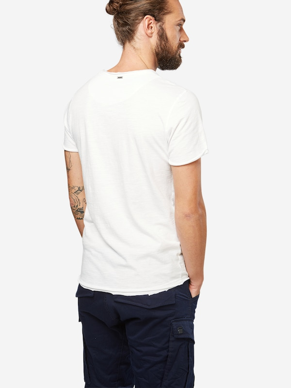 Key Largo T-Shirt mit V-Ausschnitt