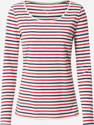 ESPRIT Tričko - zmiešané farby / červená / čierna / šedobiela: Pohľad spredu