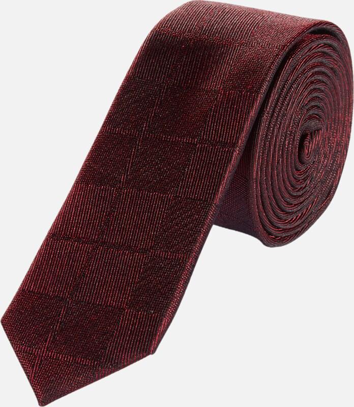 s.Oliver BLACK LABEL tteTonig gemusterte Krawatte