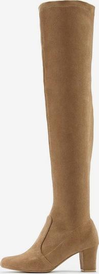 LASCANA Overknee laarzen in de kleur Sand, Productweergave