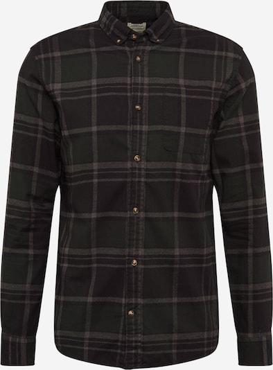 JACK & JONES Hemd in grau / tanne / schwarz, Produktansicht
