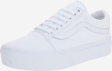 VANS Platform trainers 'Old Skool Platform' in White