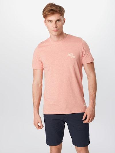 JACK & JONES Tričko - růžový melír: Pohled zepředu