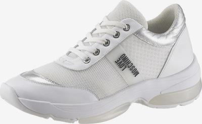 Love Moschino Sneaker in silber / weiß, Produktansicht
