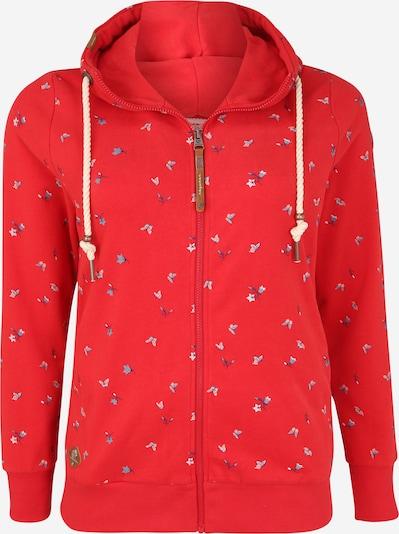 Ragwear Plus Bluza rozpinana w kolorze czerwonym, Podgląd produktu
