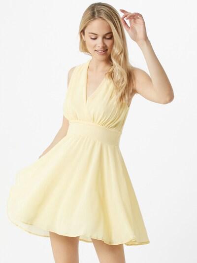 TFNC Kleid 'Nordi' in pastellgelb, Modelansicht