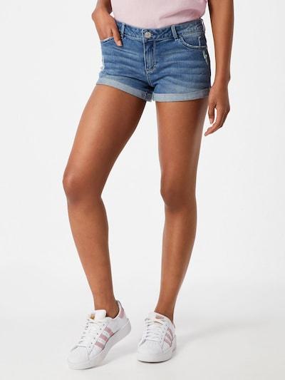 Review Jeans 'BASIC DNM SH BLU' in blue denim, Modelansicht