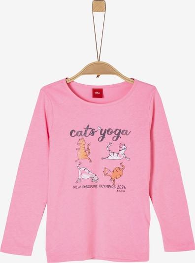 s.Oliver Shirt in mischfarben / pink, Produktansicht
