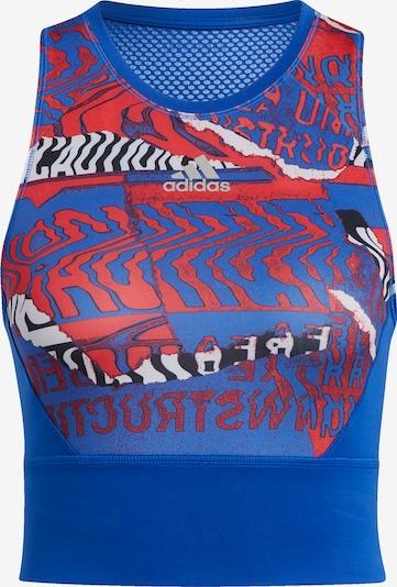 ADIDAS PERFORMANCE Sporttop in blau / mischfarben, Produktansicht