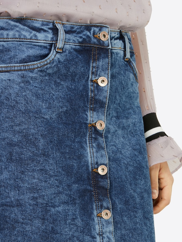 TOM TAILOR DENIM Rock in A-Linie