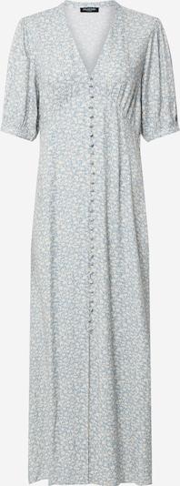 SELECTED FEMME Kleid 'SLFTIRZA 2/4 ANKLE DRESS RT' in hellblau / weiß, Produktansicht