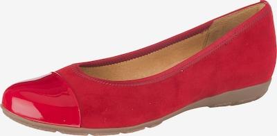 GABOR Klassische Ballerinas in rot, Produktansicht