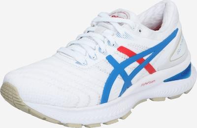 ASICS Chaussure de course 'GEL-NIMBUS 22 - RETRO TOKYO' en bleu / rouge / blanc, Vue avec produit