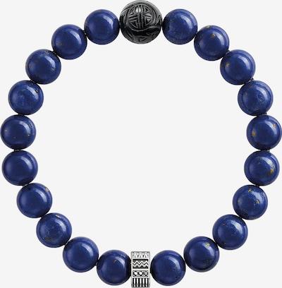 Thomas Sabo Armband in dunkelblau / schwarz / silber, Produktansicht