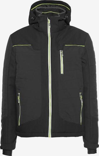 KILLTEC Skijacke 'Blaer' in neongrün / schwarz, Produktansicht