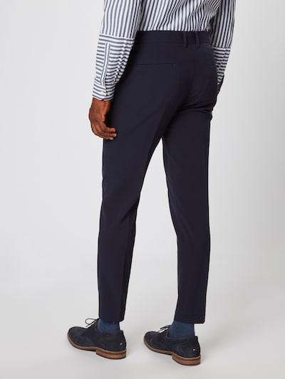 Kelnės su kantu 'Club pants' iš Lindbergh , spalva - tamsiai mėlyna: Vaizdas iš galinės pusės