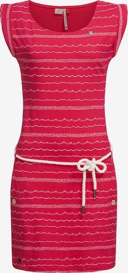 Ragwear Sommerkleid in pastellrot / weiß, Produktansicht
