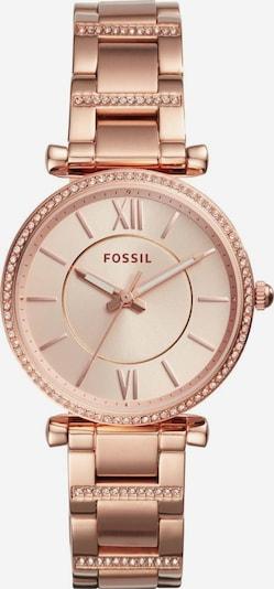 FOSSIL Quarzuhr  'CARLIE, ES4301' in rosegold / weiß, Produktansicht