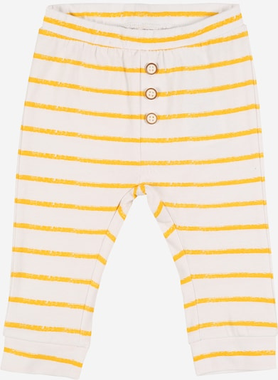 NAME IT Hose 'NBNUNNAHE' in gelb / weiß, Produktansicht