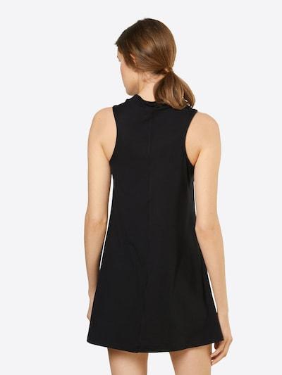 Urban Classics Kleid in schwarz: Rückansicht