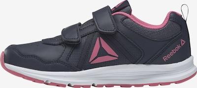 REEBOK Sportschuhe in dunkelblau / rosa, Produktansicht