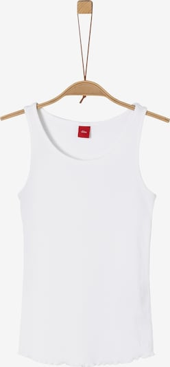 s.Oliver Top in weiß, Produktansicht