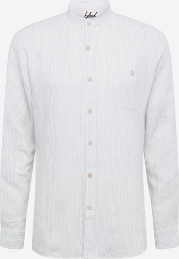 Dalykiniai marškiniai 'Schawola' iš bleed clothing , spalva - pilka / balta, Prekių apžvalga