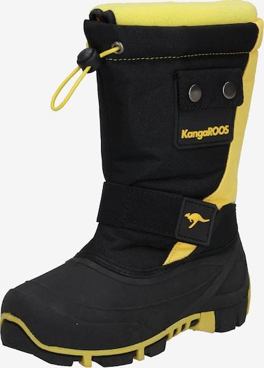 KangaROOS Snowboots 'Kanga-Bean II' in gelb / schwarz, Produktansicht