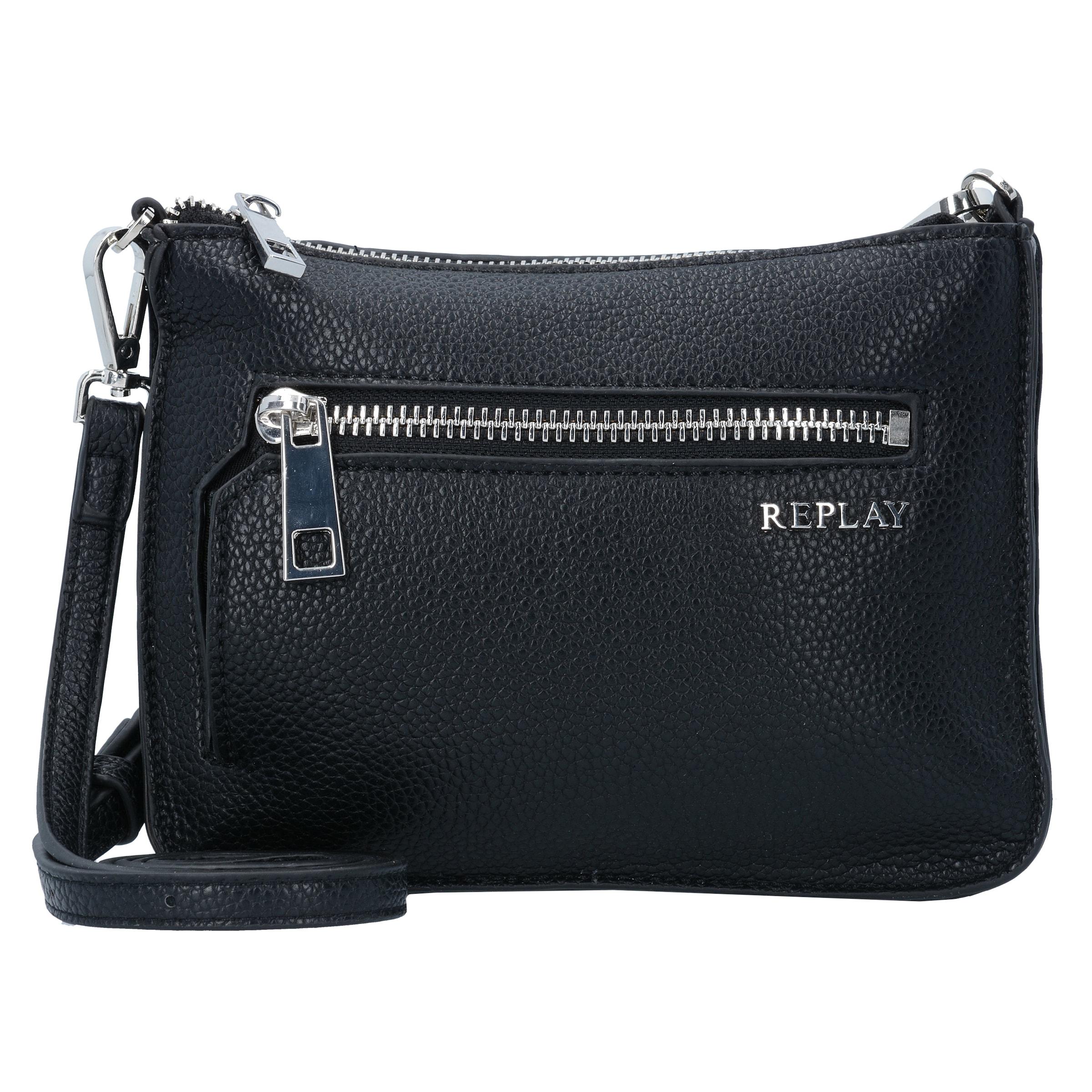 REPLAY Mini Bag Umhängetasche Leder 20 cm Billigshop Super Angebote Mit Mastercard Online Billig Zuverlässig RT6ra36gH7
