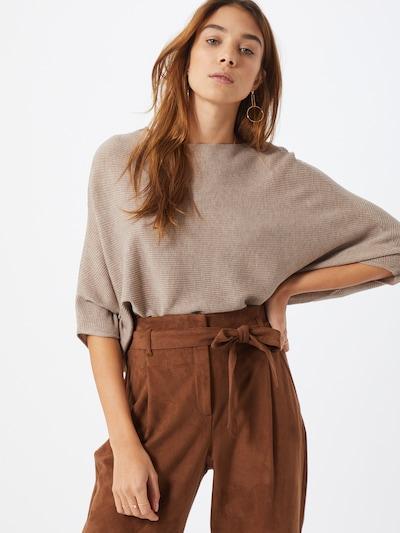 JACQUELINE de YONG Pullover 'JDYNEW BEHAVE' in taupe, Modelansicht