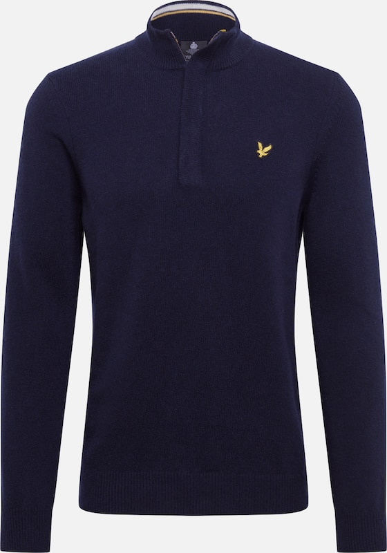 Lyle & Scott Pullover in navy: Frontalansicht