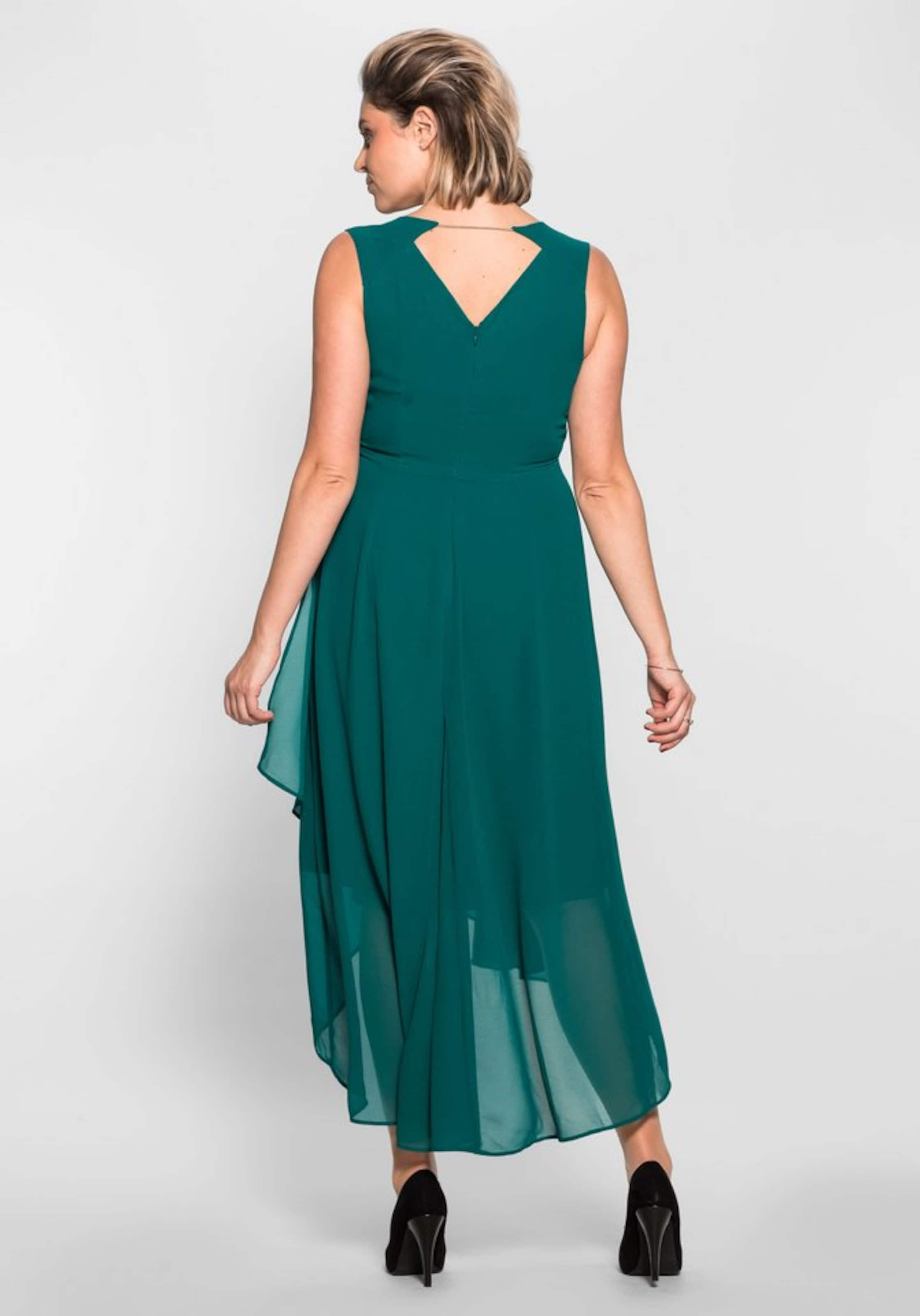 Sheego Abendkleid In Abendkleid Smaragd Sheego In 8Okn0XwP