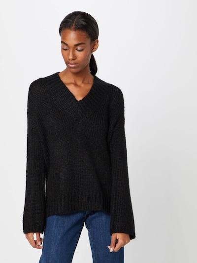 REPLAY Pullover in schwarz, Modelansicht