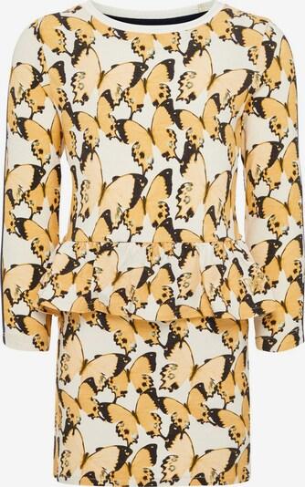 NAME IT Kleid in beige / gelb / schwarz, Produktansicht