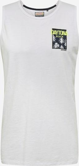 Petrol Industries Majica 'Singlet R-Neck' | bela barva, Prikaz izdelka